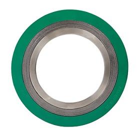 Spiral sårpackning med inre och yttre ring