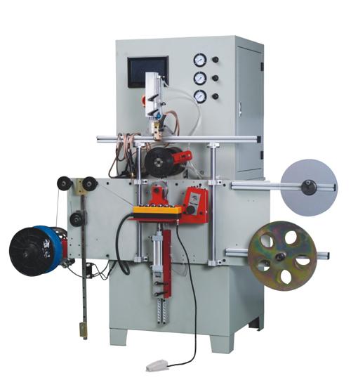 Automatisk lindningsmaskin för spiral sårpackning